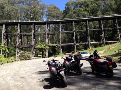 It's called the Noojee Trestle Bridge actually